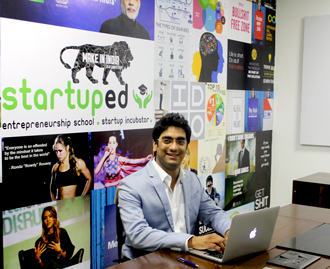 StartupEd CEO - Ankit Buti